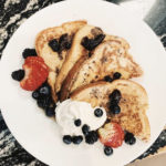 French Toast With Triple Berry Syrup